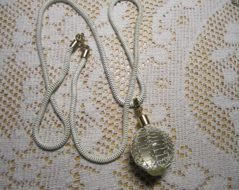 White pendant necklace for craft or wear-TLC
