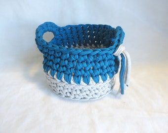 Basket Izra'el teal / gray