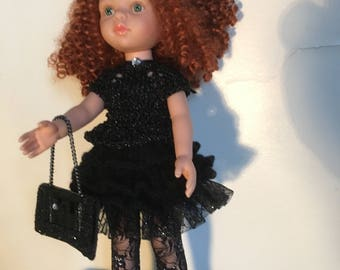 Evening dress for 33 cm the darlings of corolla, Paola Reina doll and similar