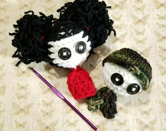 PDF/Ebook PATTERN: Worry Dolls Amigurumi Crochet Pattern By GothDollie