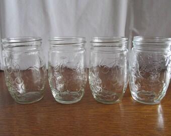 Vintage Set of Jelly Jars