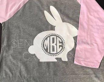 Monogrammed Easter Shirt