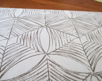 """Decor Weight Cotton fabric Curious Nature-Spider Web in Bone by Parson Grey for Free Spirit 58"""" wide"""