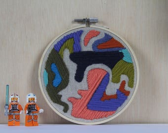 Cotton Candy Hand Embroidery