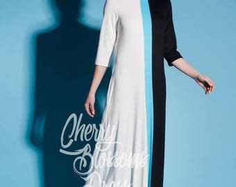 SALE ON 20 % OFF Maxi Summer Dress / Maxi dress with sleeves/ Long Sleeve Maxi Dress / Party Dress / Spring Dress/ Plus Size Evening Dress /