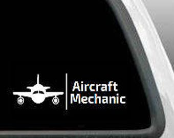 Aircraft Decal Etsy