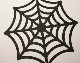 1- Spider Web Placemat Party Favor Table Decorarion Party Supply