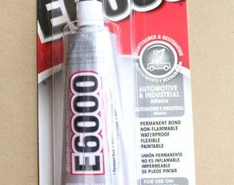 E6000 3.7 oz. Industrial Strength Adhesive, Extra Large Tube - TLS-001