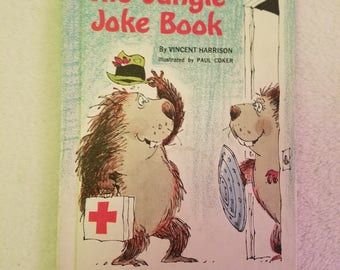 The Jungle Joke Book by Vincent Harrison, 1966