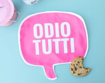 Cheeky mini Placemat - ODIO TUTTI
