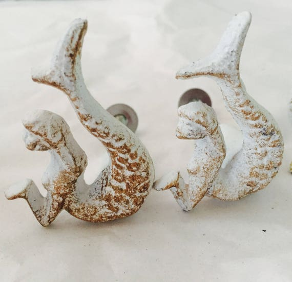 Nautical Drawer Knobs / Nautical Door Knobs / Seashell Knob / Starfish Knob/  Whale Knob/ Seahorse Knob