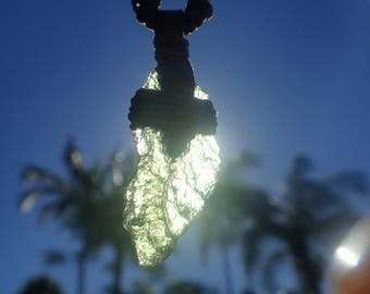 Radical Tribal Moldavite Necklace
