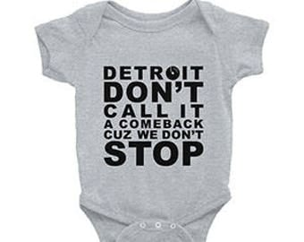 "NEW ""Detroit Don't Call It A Comeback Cuz We Don't Stop"" Exclusively by Curlitude"