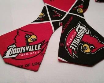 University of Louisville Cardinals Bowtie