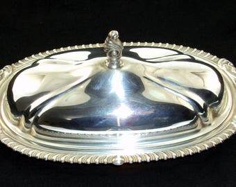 Sheridan Silver Butter Dish