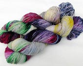 Handdyed SockYarn, 75 Wool, 25 Nylon 100g 3.5 oz. Nr. 911