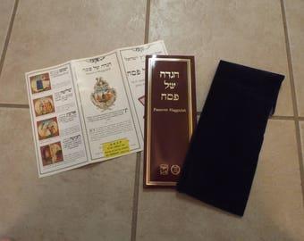 Book Passover Haggadah Seder Traditions