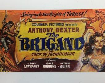 Vintage 1950's Movie Lobby Card Original Pulp Art Columbia Pictures