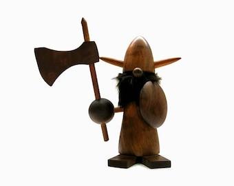 Danish Viking Figure    Mid Century Design