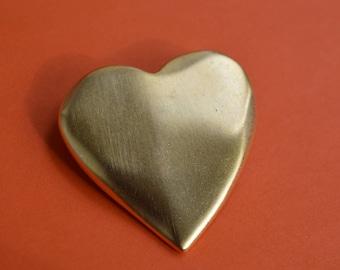 Brooch Pin Victoria Secret Golden Heart