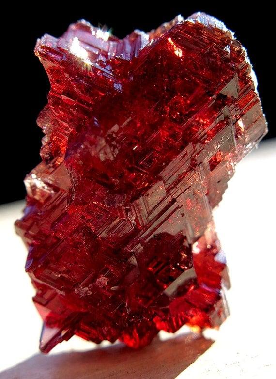 Spessartite Garnet 17.1 gram Natural Gem Crystal Navegador mine Brazil