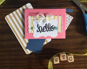 Hand-Crafted Greeting Cards Set of 6