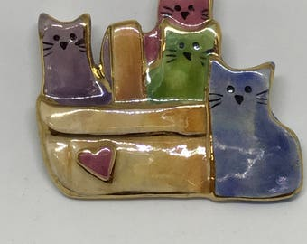 Basket full of colorful kitties Pin benefits the Humane Society