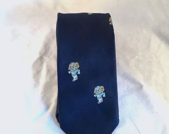 UNC Skinny Tie
