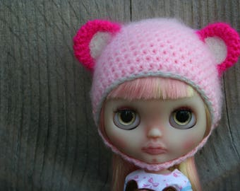 Blythe hat with ears...