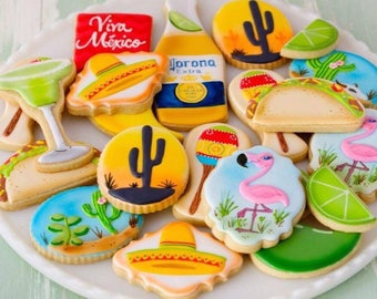 12 Cinco De Mayo Cookies