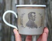 Lincoln Camping Mug