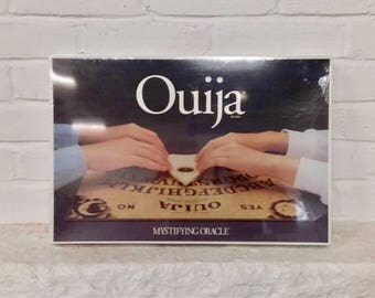 Ouija board sealed never opened new old stock vintage fortune teller telling wiccan gypsy tarot mystifying Oracle game