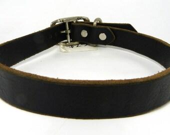 Leather collar  *SALE*