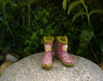 Fairy Boots - Fairy Garden - Accessory - Terrarium - Miniature Gardening