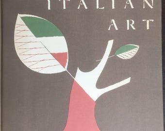 20th Century Italian Art, MOMA, 1949, Modigliani, Chirico, Carra, Miranda, De Chirico, Boccioni,