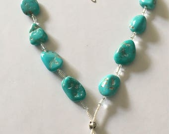 Turquoise Opal Necklace