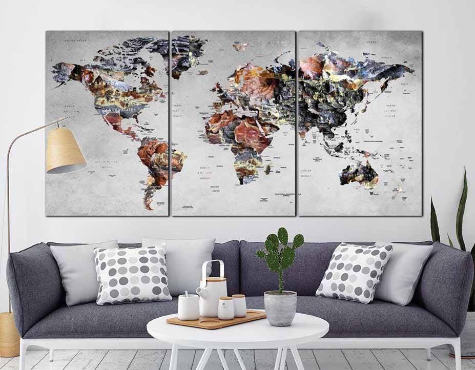 World map wall artworld map canvaslarge world maplarge map world map wall artworld map canvaslarge world maplarge map canvasworld map abstract artlarge travel mapworld map push pinworld map gumiabroncs Image collections