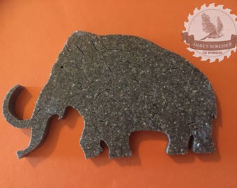Wooly Mammoth Puzzle