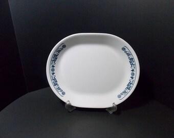 Corelle Old Town blue or Blue Onion Platter Meat platter serving platter