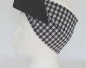 Reversible, Gingham Heads...