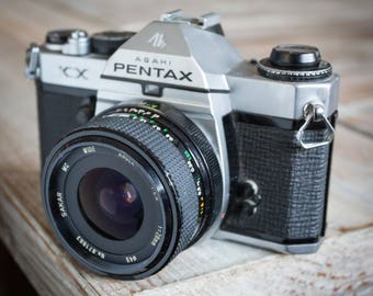 Vintage Pentax KX 35mm SLR Film Camera with Pentax Lens -= Bargain=-