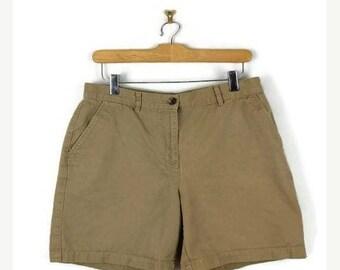 ON SALE Ralph Lauren Beige /Khaki Cotton Shorts from 90's/W29*