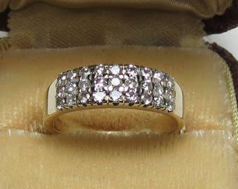 Vintage 14K Ladies Diamond Ring/Band