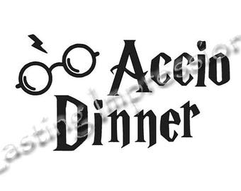 Accio Dinner / Harry Potter / Instant Pot or Crock Pot Vinyl
