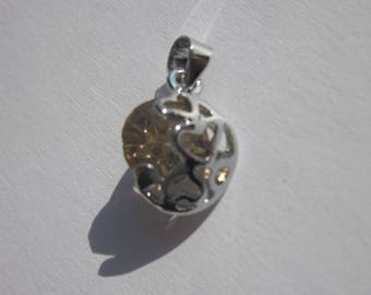 pendant and black glass champagne color (PV48-20)