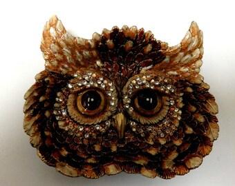 Owl Trinket Tray
