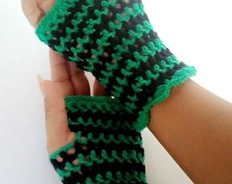 Finger less gloves