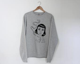 Carson McCullers Regular Unisex Sweatshirt Sweater Jumper