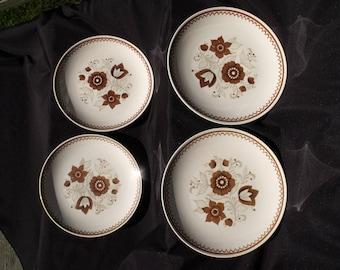 Royal China Nutmeg Dinner Plates Set of 4