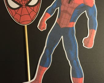 Spider-Man Cutout  and Dowel Rod set of 2